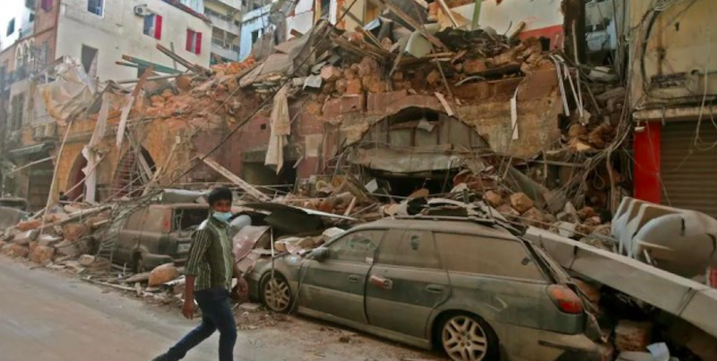 Lebanon: emergency aid after the explosion