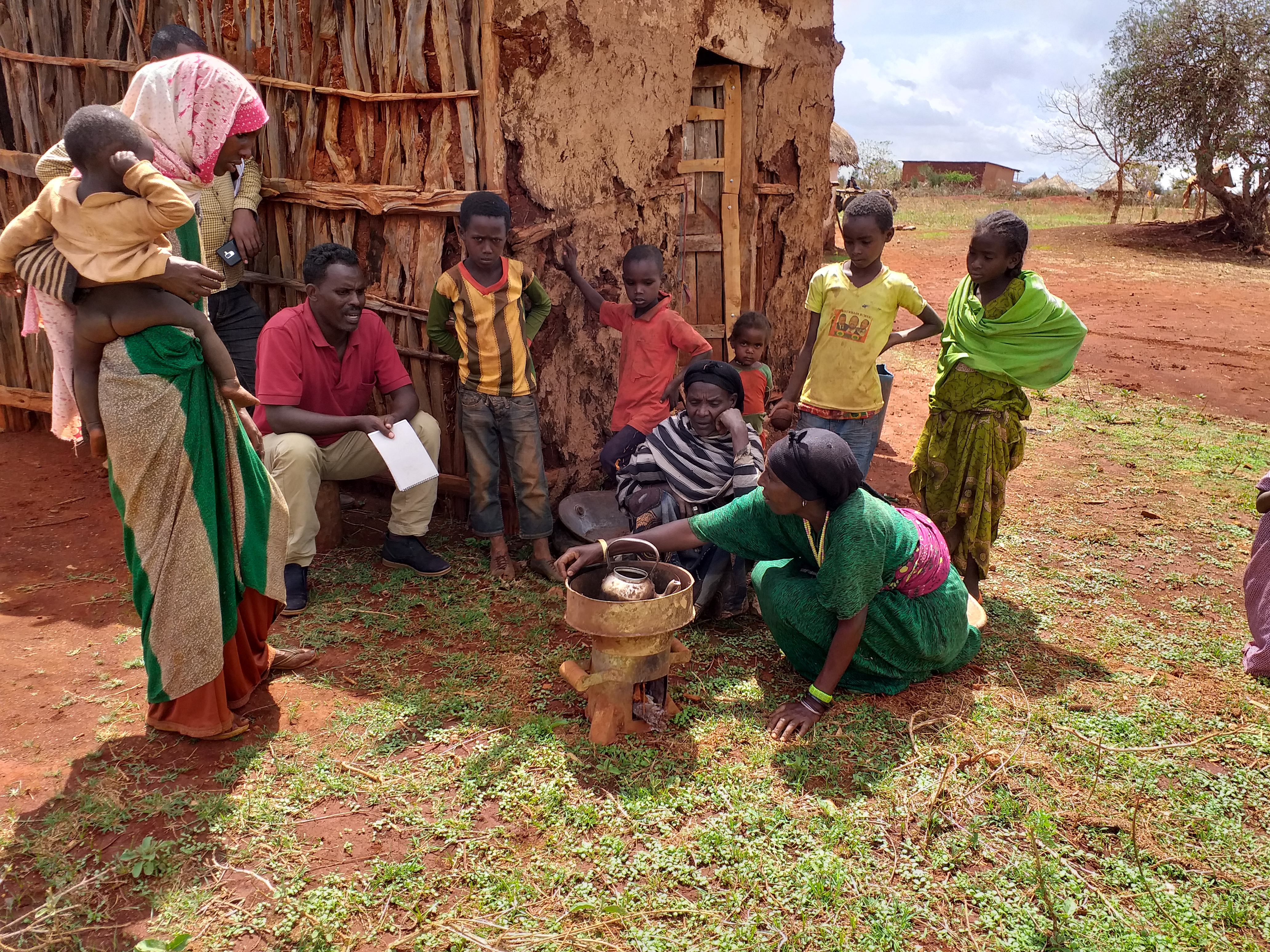 High-efficiency stoves to save lives and protect the environment